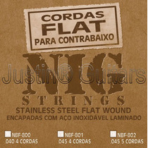 Cordas Nig Flat Nbf 802 P/ Baixo 5 Cordas - .045 -.128