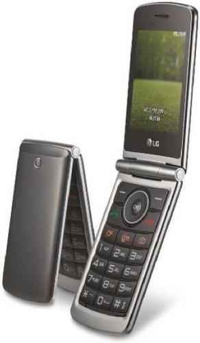 Celular Lg G360 Flip Teclado E Tela Grande Camera Dual Sim