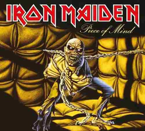 Cd Iron Maiden Piece Of Mind (1983) Remastered