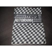 Manual Autorama Tyco Estrela Interlagos Ayrton Senna!!!