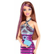 Barbie Teresa Fashionista Glitter Articulada - Y7489 - 2013