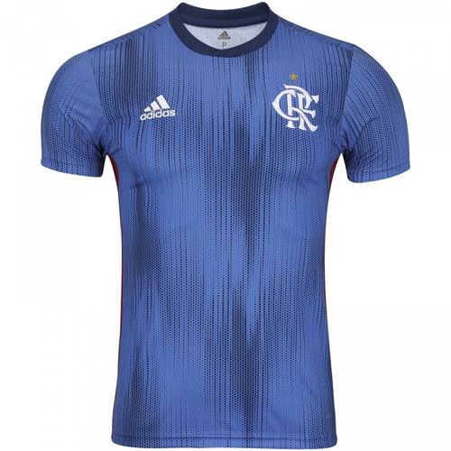 ecf8704036 Nova Camisa Flamengo Azul Original Suport 2018 - Promoção