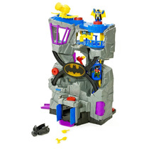 Fisher Price Batcave Caverna Do Batman V8945