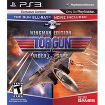 Jogo Ps3 Top Gun Video Game Wingman Edition Original Lacrado