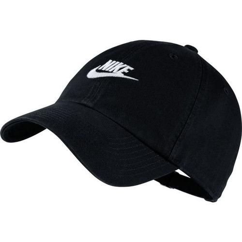 Boné Nike Futura Washed H86 Aba Curva 913011 010 Original fe3ea917231