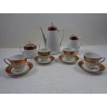 Conjunto De Café Steatita Porcelana Antiga