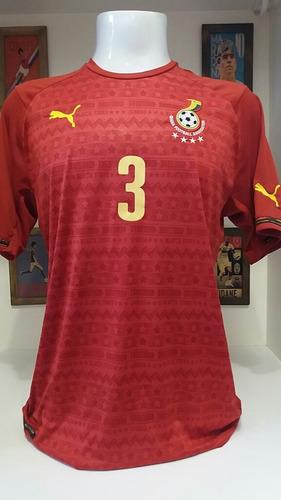 Camisa Futebol Puma Selecao Gana e574343e93d4b