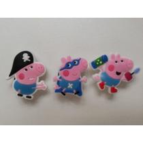 Jibbitz Botons Crocs George Pig Peppa - 9 Unidades