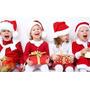 Fantasia P Natal Mamãe Noel Para Crianças Com Gorro E Cinto