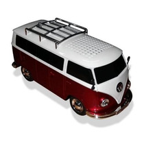 Kombi Caixa Som Carro Toca Radio Fm Musica Usb Mp3 Player