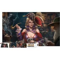 Ace Up Her Sleeve Playmat - Tapete Para Jogos De Cartas Hcd