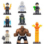 Kit Lego Quarteto Fantástico - 8 Bonecos