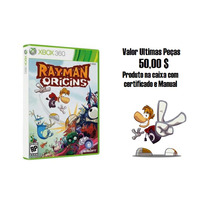Jogo Rayman Origins Ntsc Original Para Xbox 360 - Promoção