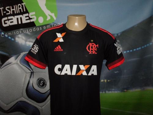 Camisa 3 Do Flamengo Usada Na Temporada 2016 !!! ae40b4500c925