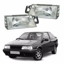 Farol Fiat Tempra 1991 1992 1993 1994 1995 Lente Vidro #2553