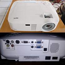 Projetor Lcd De Imagens Nec Vt491 2000 Lumens Svga