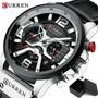 Relógio Masculino Curren 8329  Pronta Entega Original