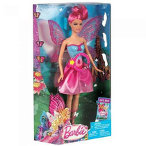 Boneca Barbie Filme Butterfly E A Princesa Fairy - Fada Rosa