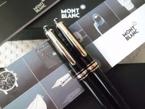 825455e9ee3 Caneta Mont Blanc Meisterstuck Com Estojo E Certificado. - R  219 en ...