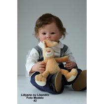 Boneca Bebê Reborn Lidyane Ou Lisandro Parece De Verdade