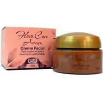 Creme Facial De Aroeira Flora Pura 100g-12 Unidades