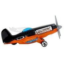 Hot Wheels Avião Mad Propz 15/2010 Lacrado/blister