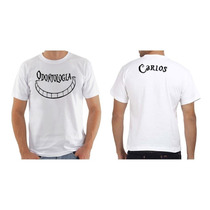 4131ca703979 Camiseta Camisa Baby Look Personalizada Odontologia Com Nome ...