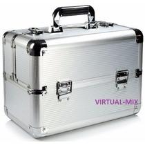 Maleta Aluminio Maquiagem Profissional Extra Grande Promoção