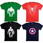 Camiseta Super Herói Camisa Filme Heróis Tshrit Heróis