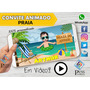 Video Convite Animado  Praia
