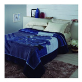 Cobertor Jolitex Ternille Tradicional Casal Aquamarine Tramore