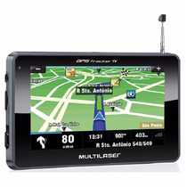 Gps Automotivo Gp034 4,3 Polegadas Radio Fm Mp3 Multilaser