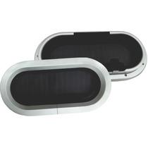 Vigia Oval 7 X 15 Importada Em Aluminio,lancha,barco,