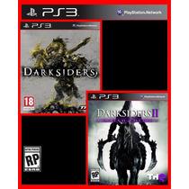 Combo Darksiders 1 E Darksiders 2 Ps3 Código Psn Promocao!!