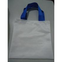Sacola Ecobag Para Sublimação 10 Pçs 45x50 Tecido Pet