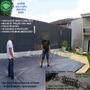 Capa Lona Proteção Piscina 11,5x6 Molas Tração Suporta 300kg