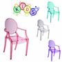 Cadeira Infantil Sophia Louis Ghost Kids Em Pc P/ Crianças