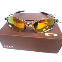 94d52adfc Oculos Juliet Arco Iris Oakley Double X Gold Penny Metal à venda em ...