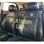 Capa Banco Carro 100% Eco Couro Volkswagen + Capa De Volante Original