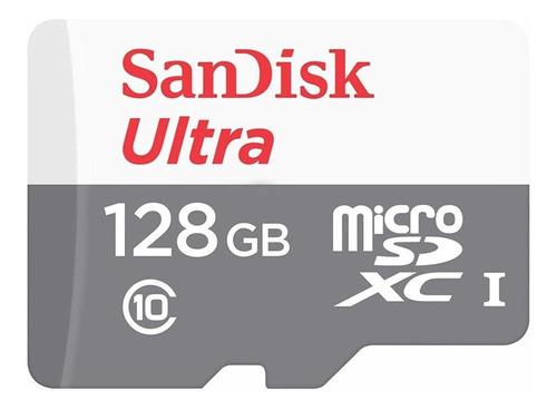 Cartão De Memória Sandisk Sdsquns-128g-gn6mn Ultra 128gb