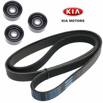 Kit Correia Alternador Acess. Kia Carens 2.0 16v