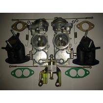 Kit Solex 32 Pdsi Coletor Acionamento Fusca Kombi Puma 1600