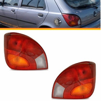 2 Lanterna Fiesta Hatch 97 98 99 2000 2001 2002 Esq + Direit