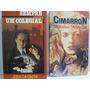 2 Livros Cimarron Edna Ferber + Sempre Um Colegial Le Carré Original