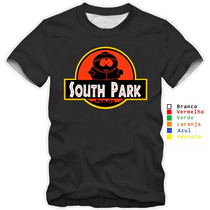 Camiseta South Park Engraçada Cartman Camisa 100% Algodão