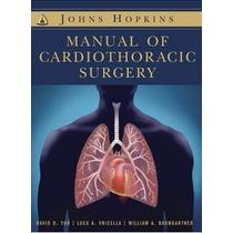 Livro Em Inglês - Hopkins Manual Of Cardiothoracic Surgery