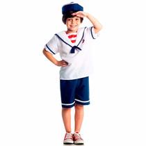 Fantasia Marinheiro P (3 A 4 Anos)