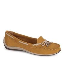 Sapato Dockside Feminino Bottero - Amarelo