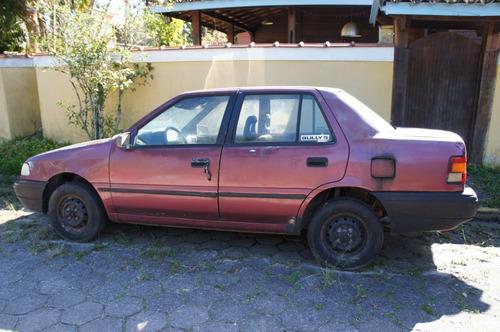 HYUNDAI EXCEL LS 1994 TRANSFORME EM CAR TUNING VEJA FOTO 15