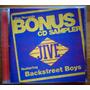 Backstreet Boys Britney Spears Cd Imp Usado Bonus Sampler 98